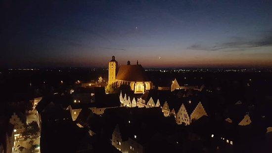 Liebfrauenmuenster: Ingolstädter Münster bei Nacht