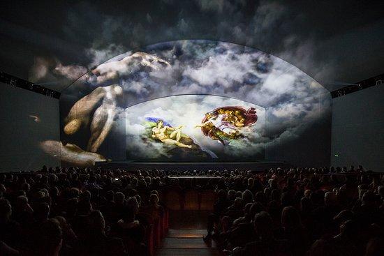 Auditorium Conciliazione: Creazione Michelangelo - Michelangelo and the Secrets of the Sistine Chapel