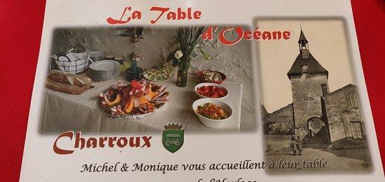 Bilde fra La Table d'Océane