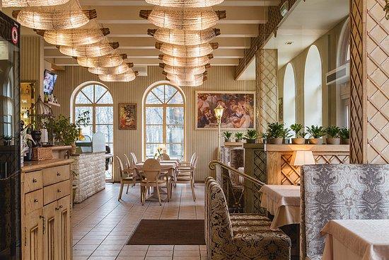 "Ресторан - Парк Джузеппе: 1 этаж ресторана ""Парк Джузеппе""/1nd floor of the restaurant ""Park Giuseppe"""