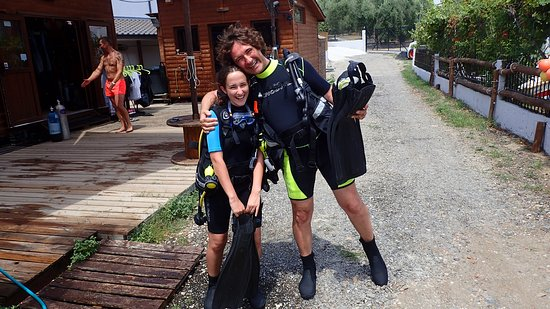 Ocean Diving Center: kids have fun lerning with their parents too
