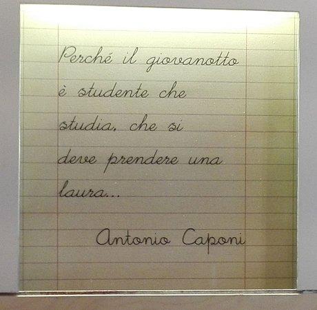 I fratelli Caponi Asporto & Bottega: interno