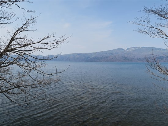 Lake Kussharo: 屈斜路湖の眺め