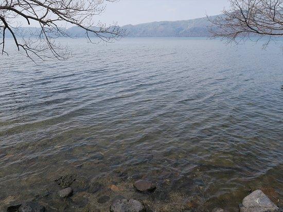Lake Kussharo: 透明度の高い水