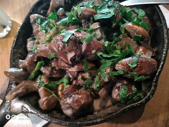 Cramim Restaurant: פטריות במחבת