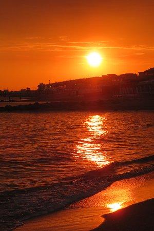 Ristorante Salus: Lovely sunset
