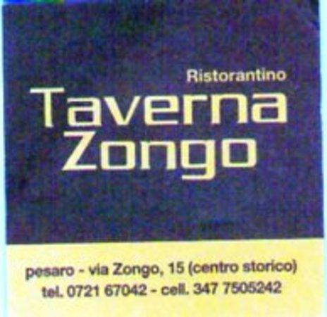 Taverna Zongo: biglietto