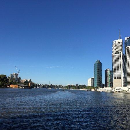 The Brisbane River صورة فوتوغرافية