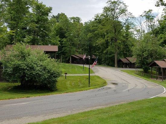 Newbury, OH: Cabins