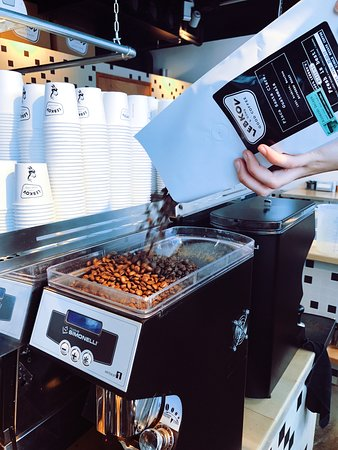 Lebkov & Sons Den Haag: Coffee beans