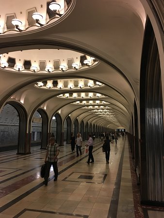 Walks With Folks: Moscow Metro — So Unique