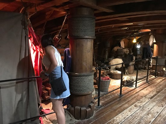 Pirates of Nassau Museum: attention to details