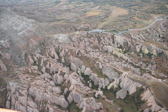 Cappadocia Voyager Balloons: Aerial View