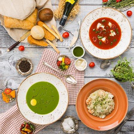 Ресторан - Парк Джузеппе: Супы/Soups
