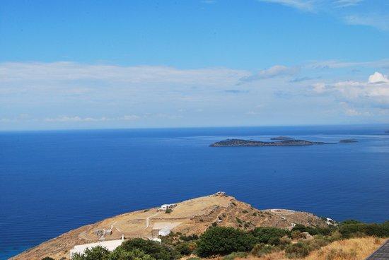 Andros, Yunanistan: από ψηλά
