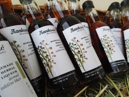 Vinica, Словения: Homemade products