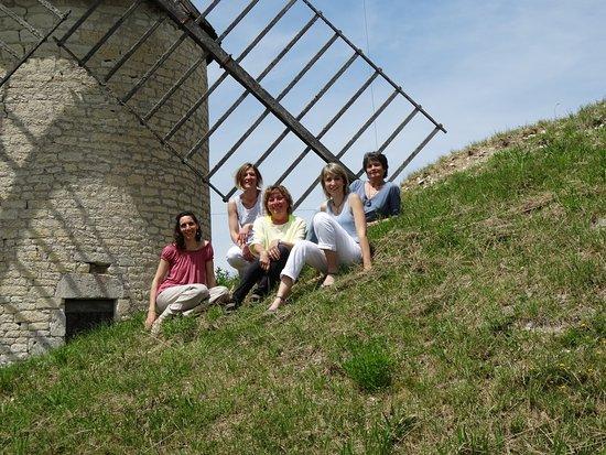 Castelnau-Montratier, Frankreich: L'équipe de l'office de tourisme