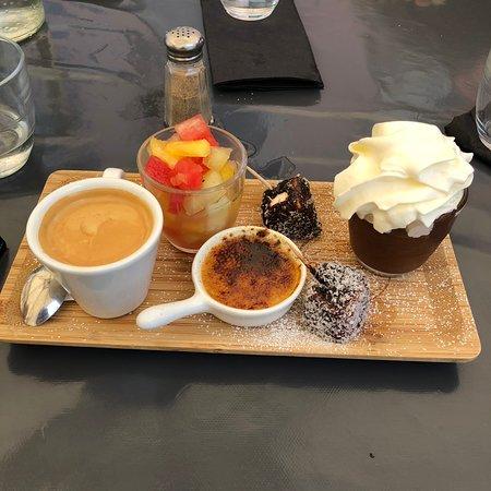 MA Cantine: Café gourmand (7,50 €)