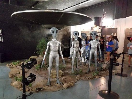 Bilde fra International UFO Museum and Research Center