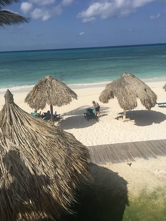 Tamarijn Aruba All Inclusive: All rooms are this close to the beach.