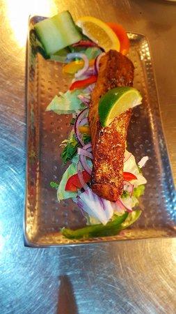 Rioja Tapas Restaurant: Tandoori Salmon