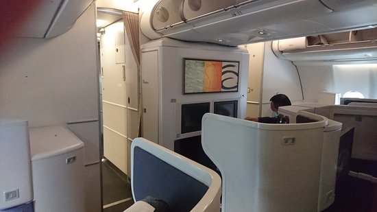 Cathay Pacific: 商務客艙