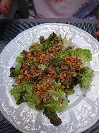 Atmosphere: ensalada con quinoa