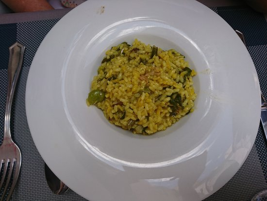 Atmosphere: arroz verde