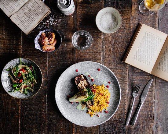 The Botanist: Try Me ! Harissa Aubergine Steak