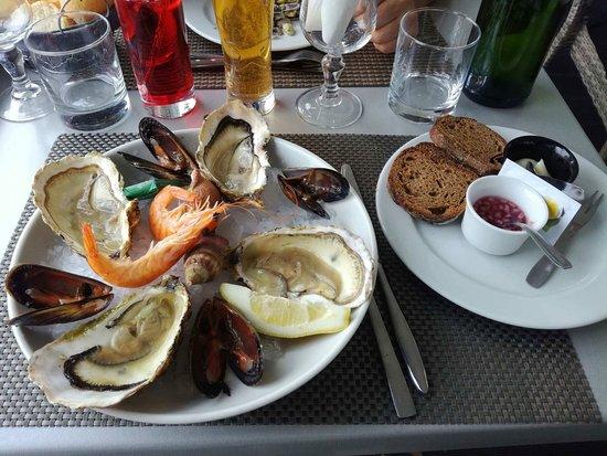 L'Artimon: assiette de fruits de mer