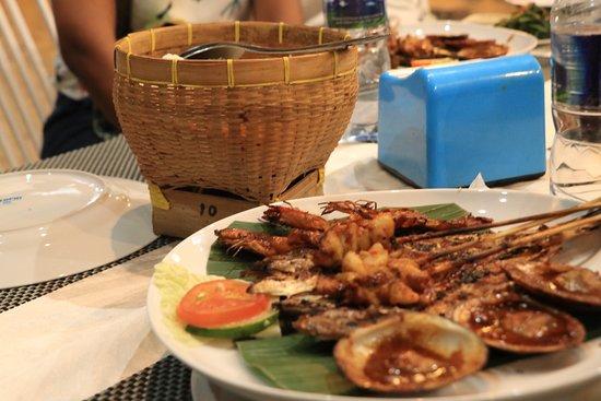 Seafood dinner Bali
