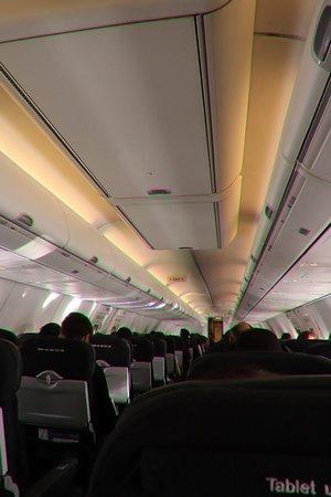 Qantas: Inside the plane