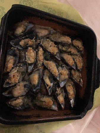 Restaurant Pulebardha: cozze ripiene