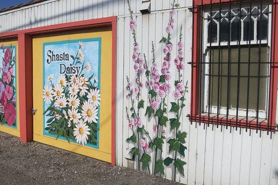 The Murals Of Lompoc Pretty Garage Doors