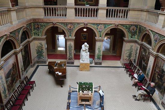 Wallington Hall: The Central Hall of Wallington