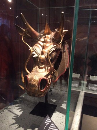 The Ann and Gabriel Barbier-Mueller Museum : The Samurai Collection: A horse's Head covering