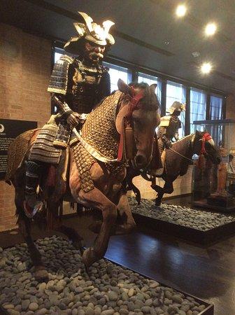 The Ann and Gabriel Barbier-Mueller Museum : The Samurai Collection: Samurai and horse
