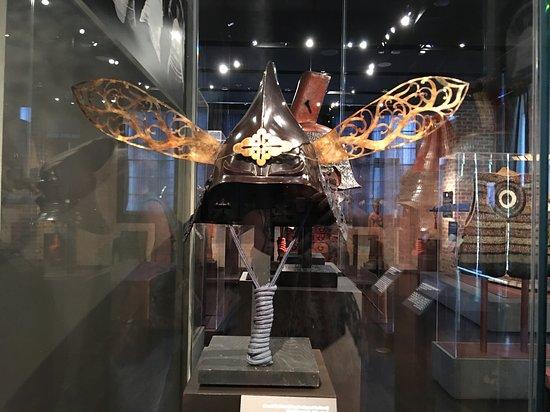 The Ann and Gabriel Barbier-Mueller Museum : The Samurai Collection: Very ornate helmet