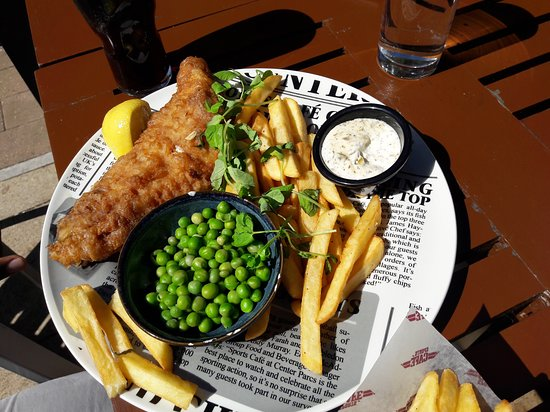 Center Parcs Woburn Forest: Hucks Fish and Chips
