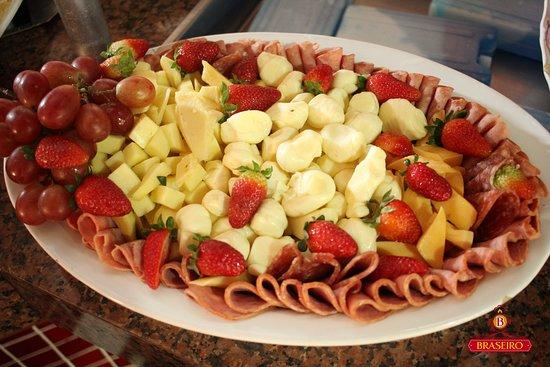 Restaurante Braseiro: Frios...