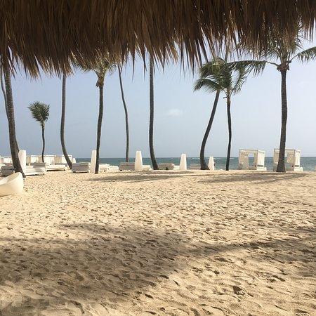 Paradisus Punta Cana Resort: Beautiful beach view from La Palapa