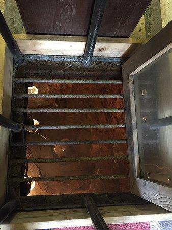 Austinville, VA: Shot Tower inside