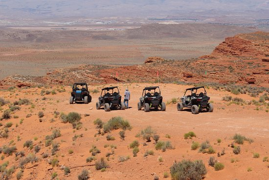Southern Utah Adventure Center: From on of the stops.