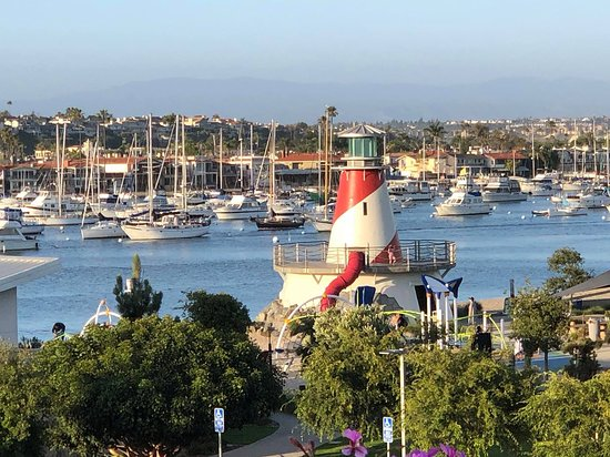 Bay Shores Peninsula Hotel - Newport Beach: View from rooftop patio