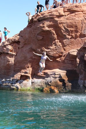 Southern Utah Adventure Center: The kids didn't want to leave!