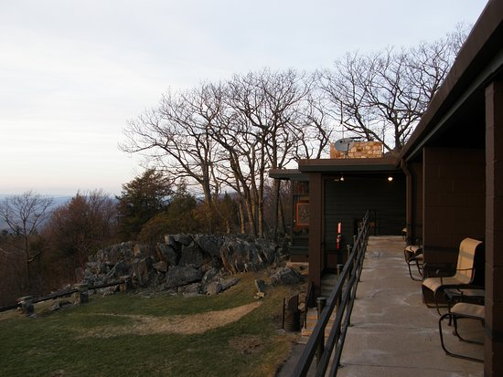 Skyland : All rooms have sitting areas outside with views of the Shenandoah Valley.