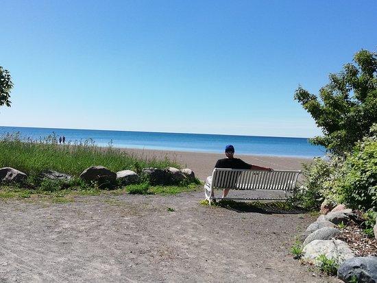 Cobourg  Beach: Summer in Cobourg