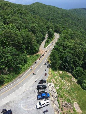 Big Walker Lookout : View from top