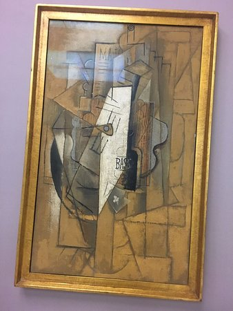 Museo del Novecento: abstract painting