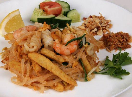 Saigon Cafe: фо на воке с морепродуктами
